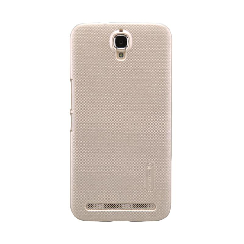 harga Nillkin Super Frosted Shield Casing for Alcatel One Touch Flash Plus or TCL 3N M2M - Gold Blibli.com