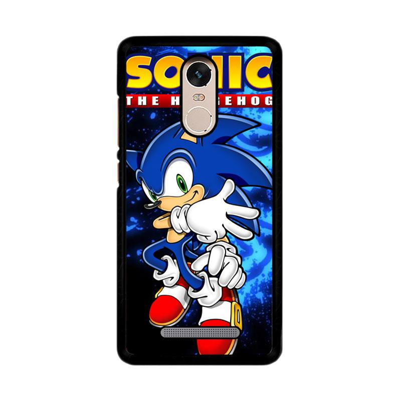 Flazzstore Sonic The Hedgehog Z2243 Custom Casing for Xiaomi Redmi Note 3 or Note 3 Pro
