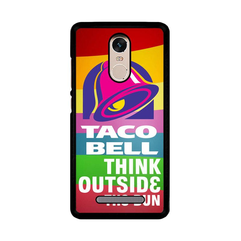 Flazzstore Taco Bell Logo Z3337 Custom Casing for Xiaomi Redmi Note 3 or Note 3 Pro
