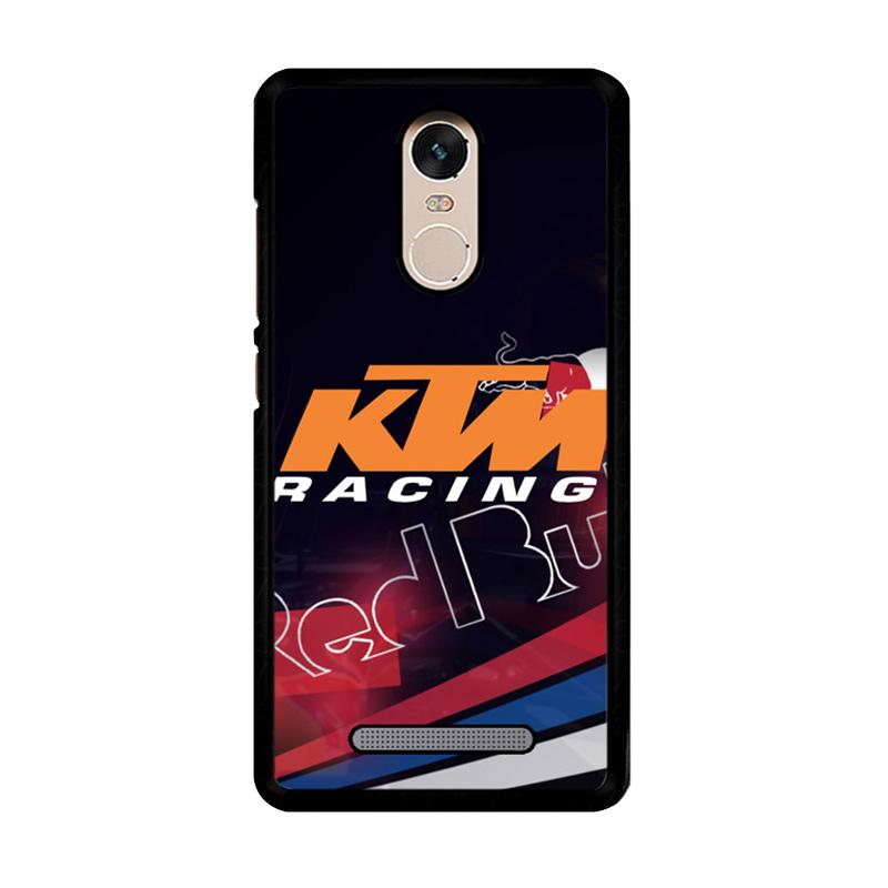 Flazzstore Ktm Racing Red Bull Z3359 Custom Casing for Xiaomi Redmi Note 3 or Note 3 Pro