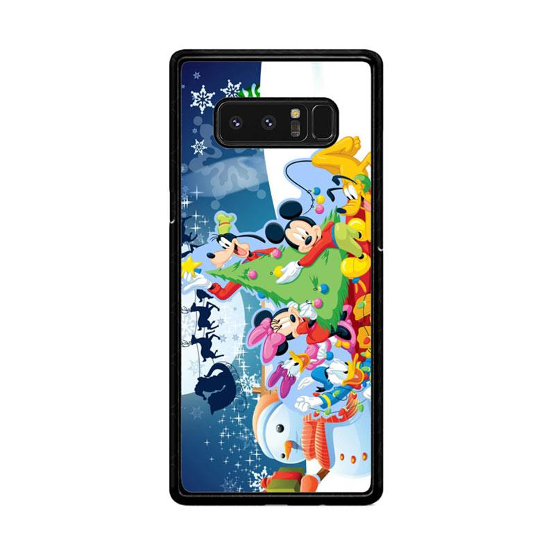Flazzstore Mickey Mouse And Friends Christmas Z2695 Custom Casing for Samsung Galaxy Note8