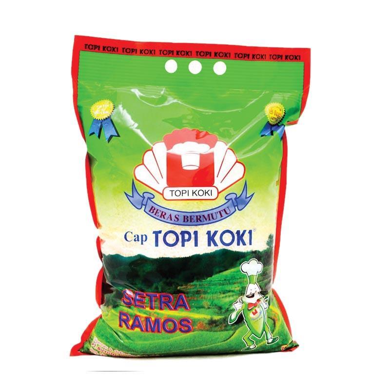 Topi Koki Setra Ramos Beras [5 kg/ 2 pcs]