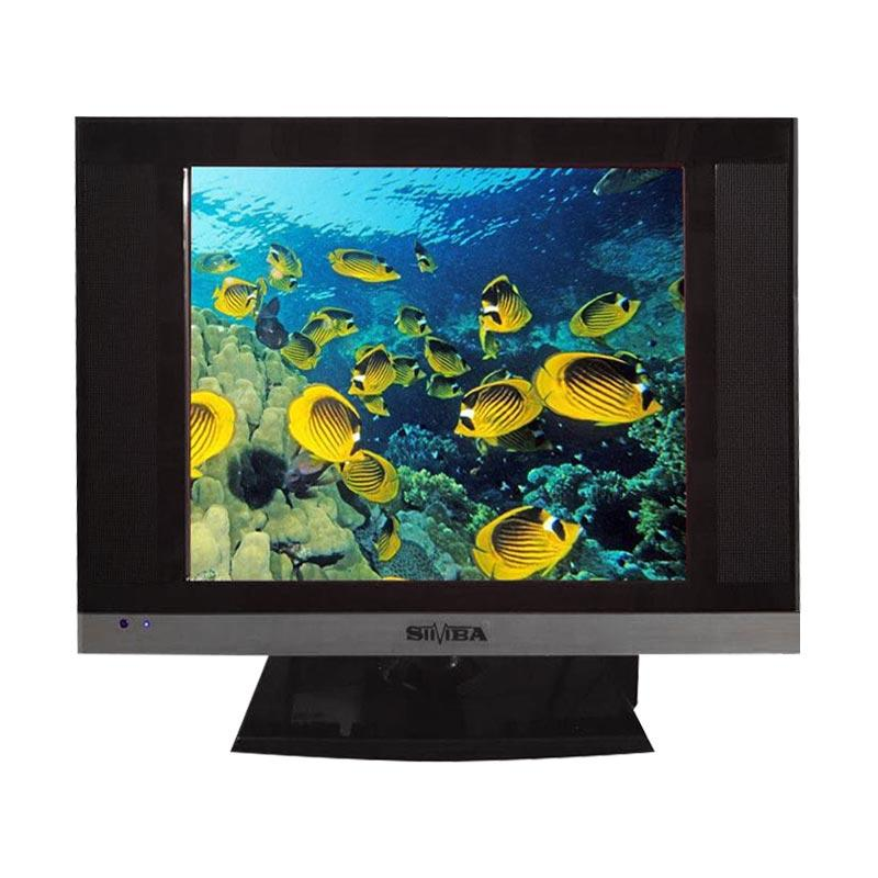SIIVIBA 1401 LED TV [17 Inch/ USB Movie/ 19 Inch]
