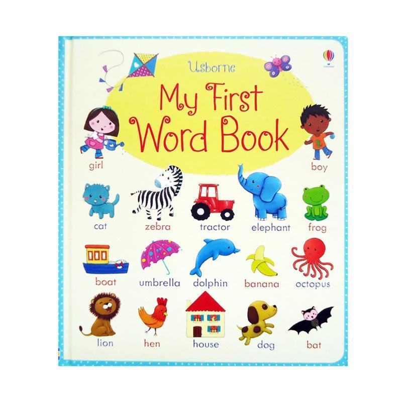Genius Usborne My First Word Book Buku Edukasi Anak