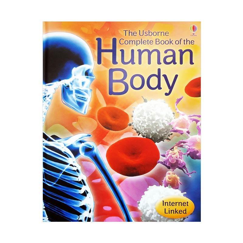 Genius The Usborne Complete Book of the Human Body Internet Linked Buku Anak