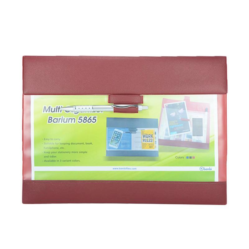Bambi Barium 5865 Multi Organizer - Red