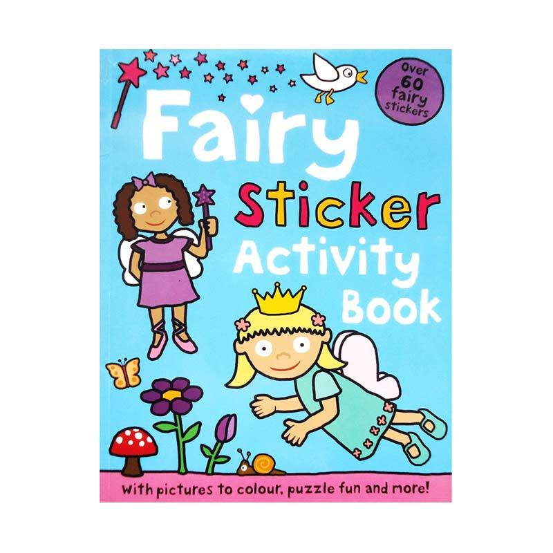 Genius Fairy Sticker Activity Book with Over 60 Fairy Stickers Buku Anak