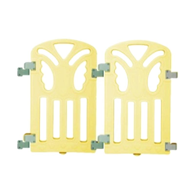 Coby Haus Butterfly Minipack Pagar Pengaman Bayi - Yellow