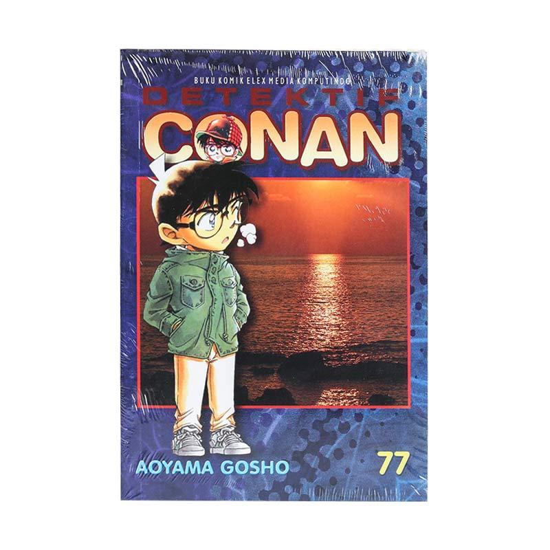 Elex Media Komputindo Detektif Conan 77 203249699 by Aoyama Gosho Buku Komik