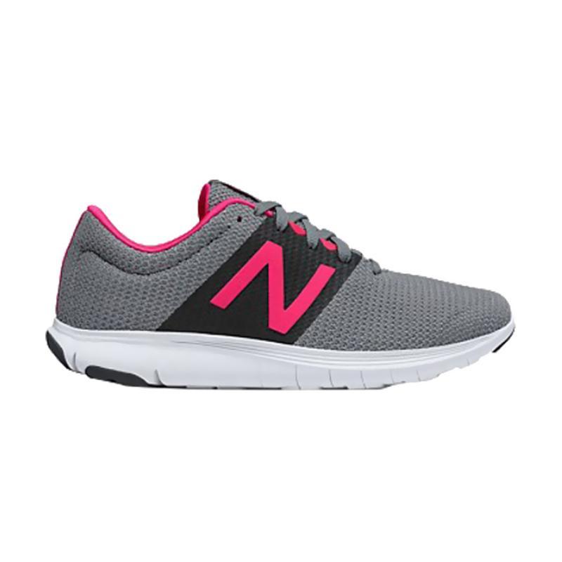New Balance New Koze Sepatu Lari Wanita - Grey Pink [V1-WKOZELG1]