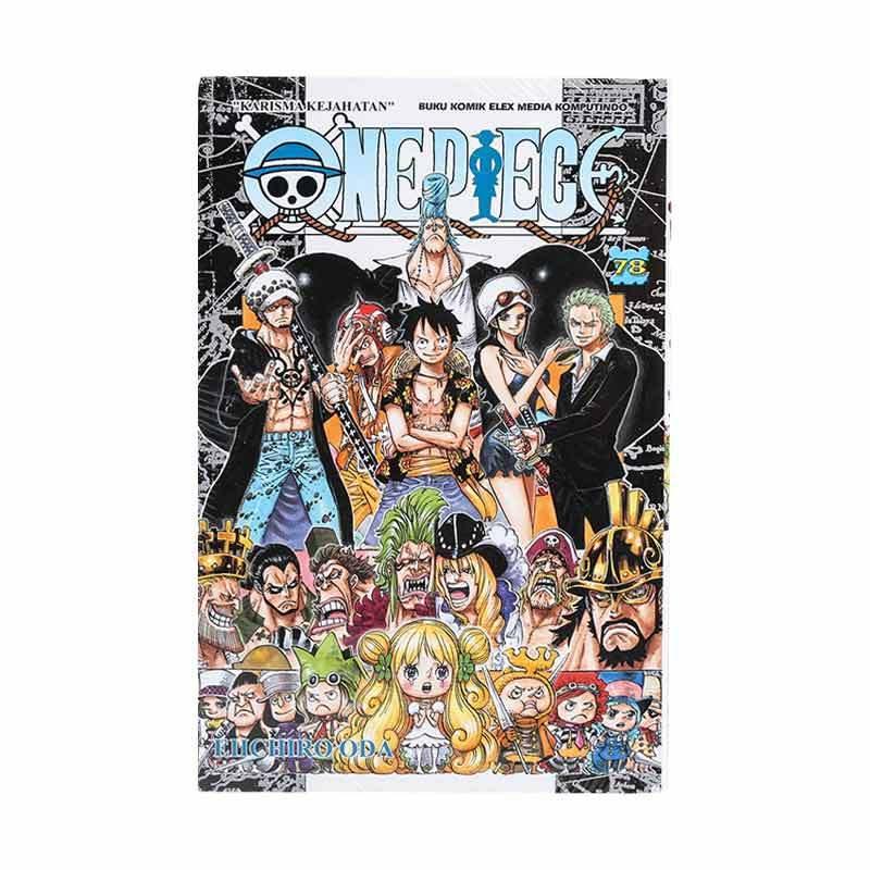 Elex Media Komputindo One Piece 78 716011620 by Eiichiro Oda Buku Komik