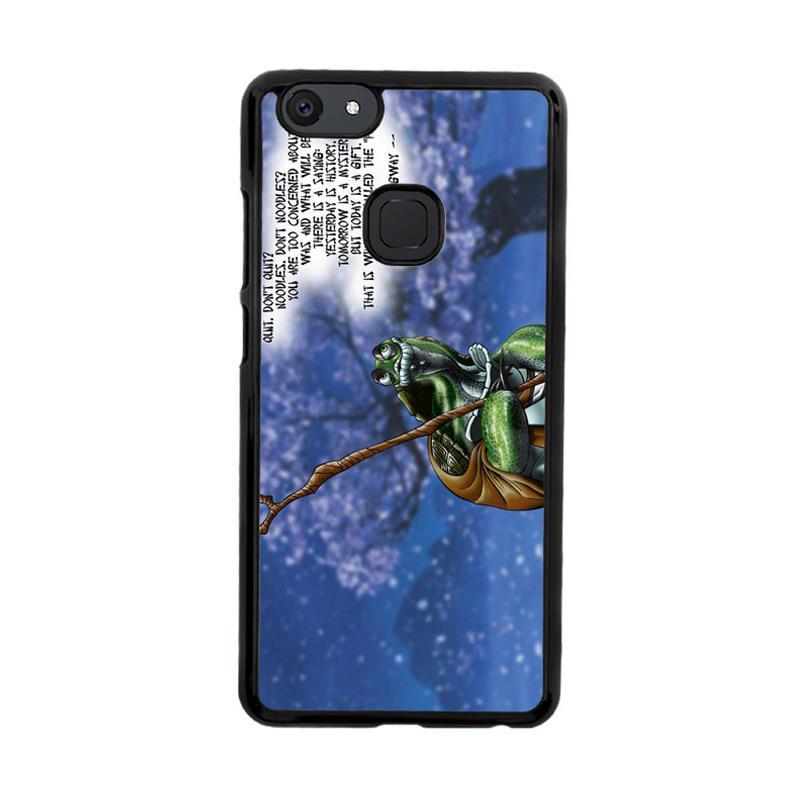 Flazzstore Kung Fu Panda Turtle Quote Z0967 Custom Casing for Vivo V7