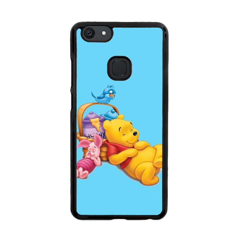 Flazzstore Funny Winnie The Pooh And Piglet Z1060 Custom Casing for Vivo V7