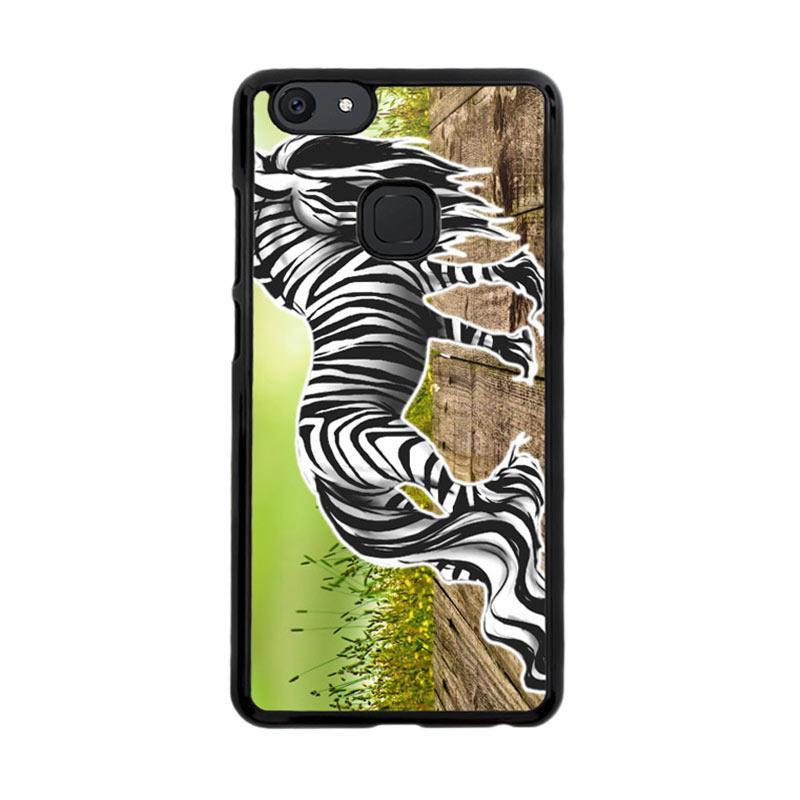 Flazzstore Zebra Art D0055 Custom Casing for Vivo V7