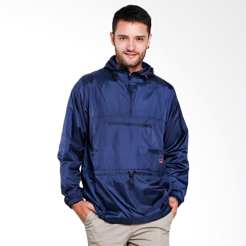 3SECOND 0701 Jacket Pria - Blue