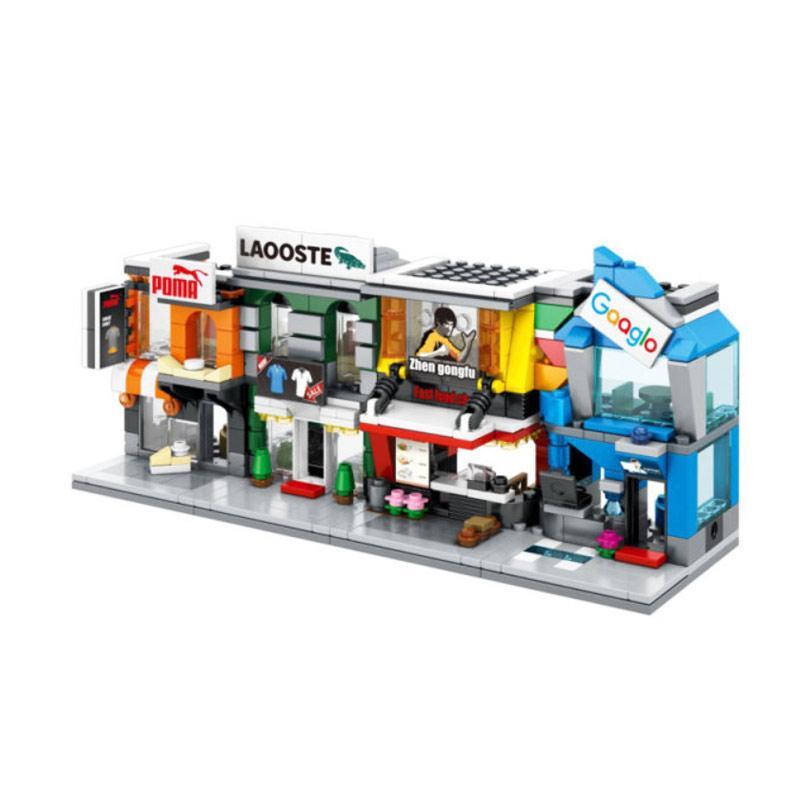 Sembo 4 in 1 World Great Dream Modular Set Mini Block