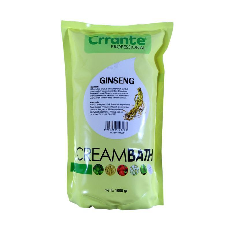 Jual Crrante Ginseng Creambath Perawatan Rambut Refill 1 Kg Online April 2021 Blibli
