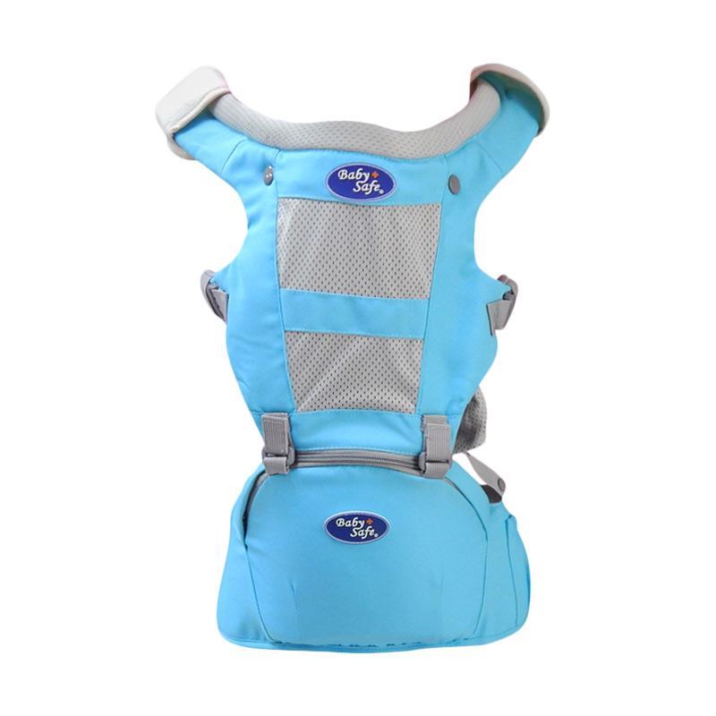 BabySafe Hip Seat Gendongan Bayi - Blue