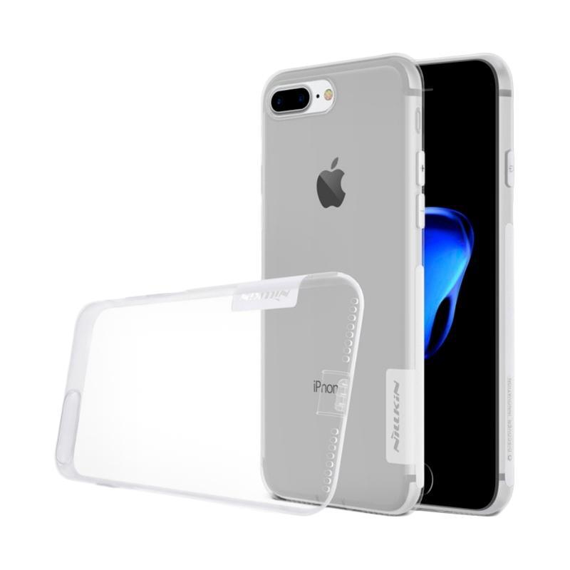 Nilikin Nature TPU Softcase Casing for iPhone 8 Plus or iPhone 7 Plus - Transparent