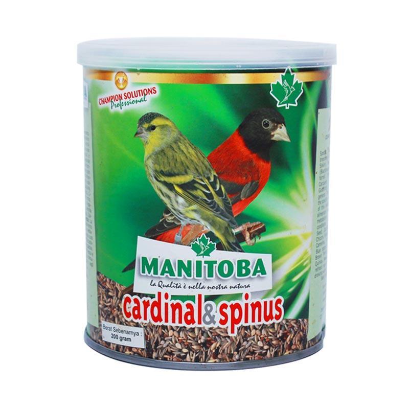 harga MANITOBA Cardinal Pakan Burung Kenari, Anis, Murai Blibli.com