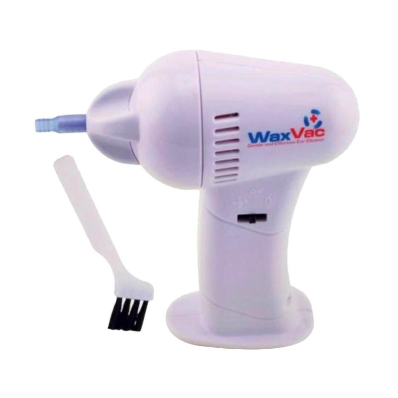 WaxVac Alat Pembersih Telinga Elektrik - Putih