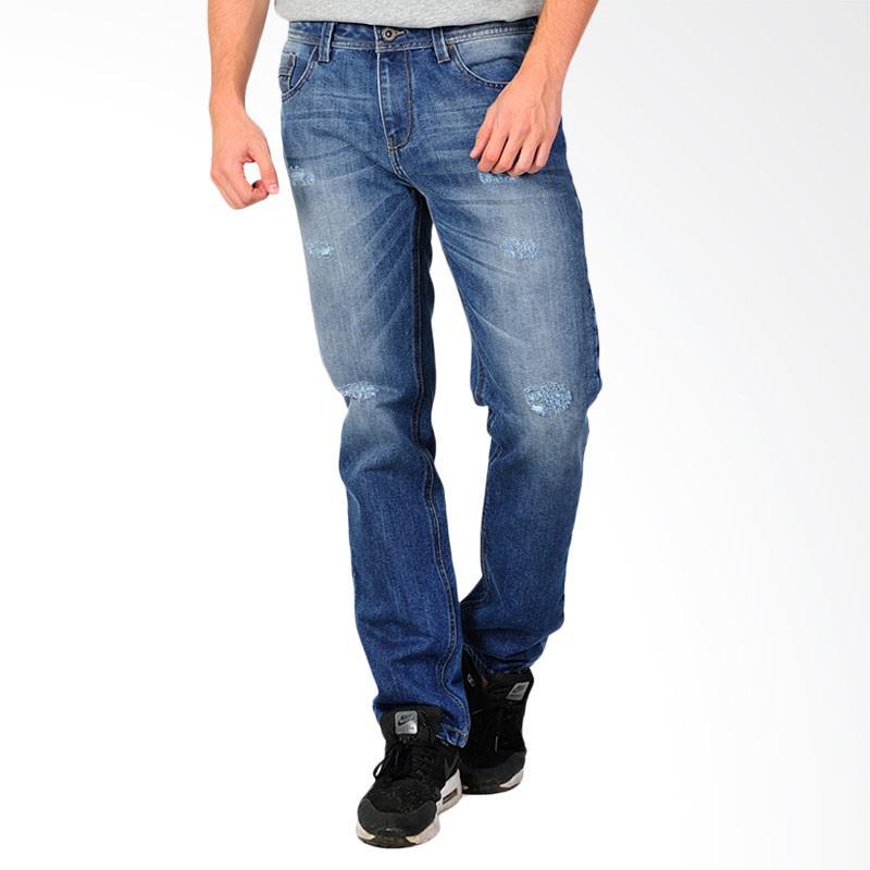 SJO & SIMPAPLY Centrin Men's Jeans - Medium Blue