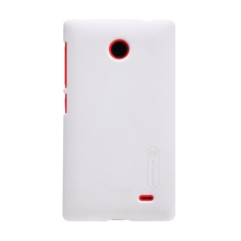 Nillkin Hardcase Casing for Nokia X or X Dual - White + Free Anti Gores