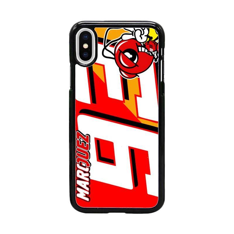 Acc Hp Marc Marquez MotoGP W4965 Custom Casing for iPhone X
