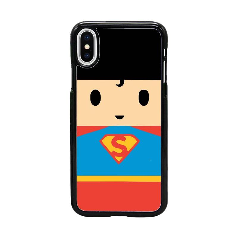 Acc Hp Superman DC Comic W5067 Custom Casing for iPhone X