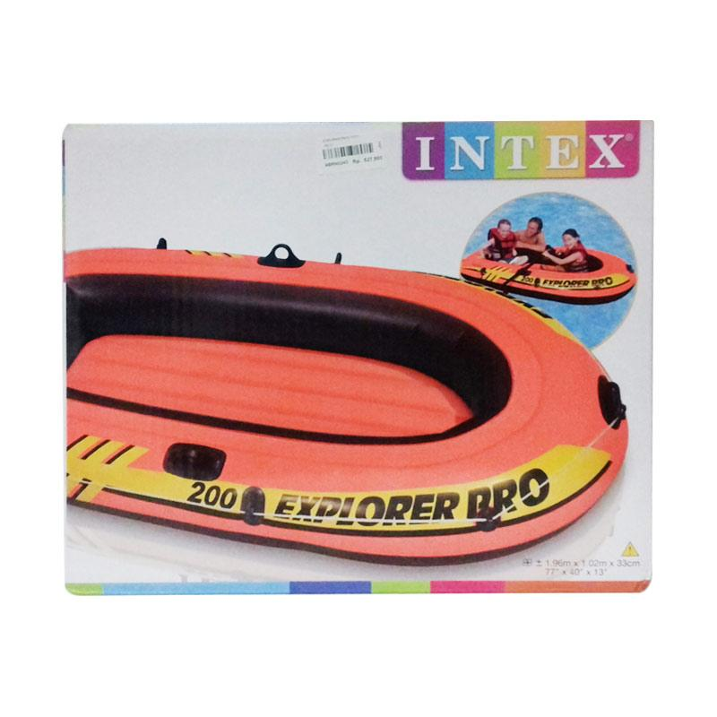 harga Intex Explorer Pro 200 Boat Perahu Karet - Red [58356] Blibli.com