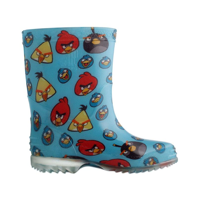 harga AP BOOTS Burung Angry Bird Sepatu Boots Anak - Biru Muda Blibli.com