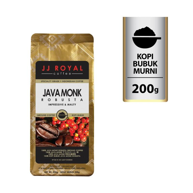 harga Groceries - WHS - JJ Royal Java Monk Robusta Ground Bag Bubuk Kopi [200 g] Blibli.com