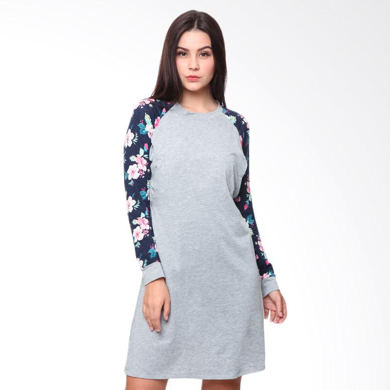 harga Just Mom GS104 Giselle Baju Menyusui - Grey Floral Blibli.com