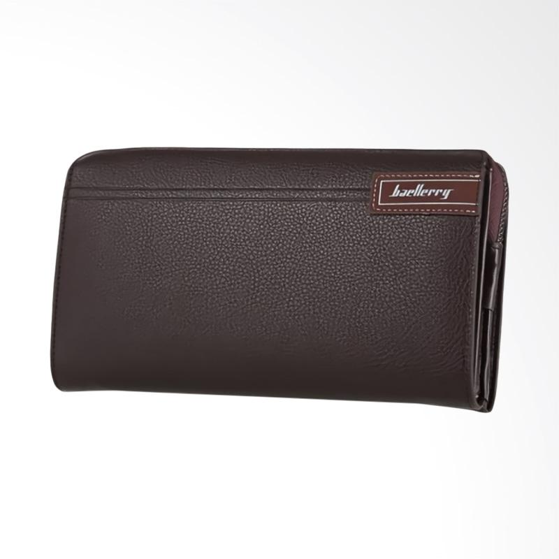 Jual Baellerry Man Wallet Zipper Dompet Kulit Pria DOMPET WANITA HAND BAG  CLUTCH BAG BOOGESI BAELLERRY - Coklat Online - Harga   Kualitas Terjamin  461c75087d