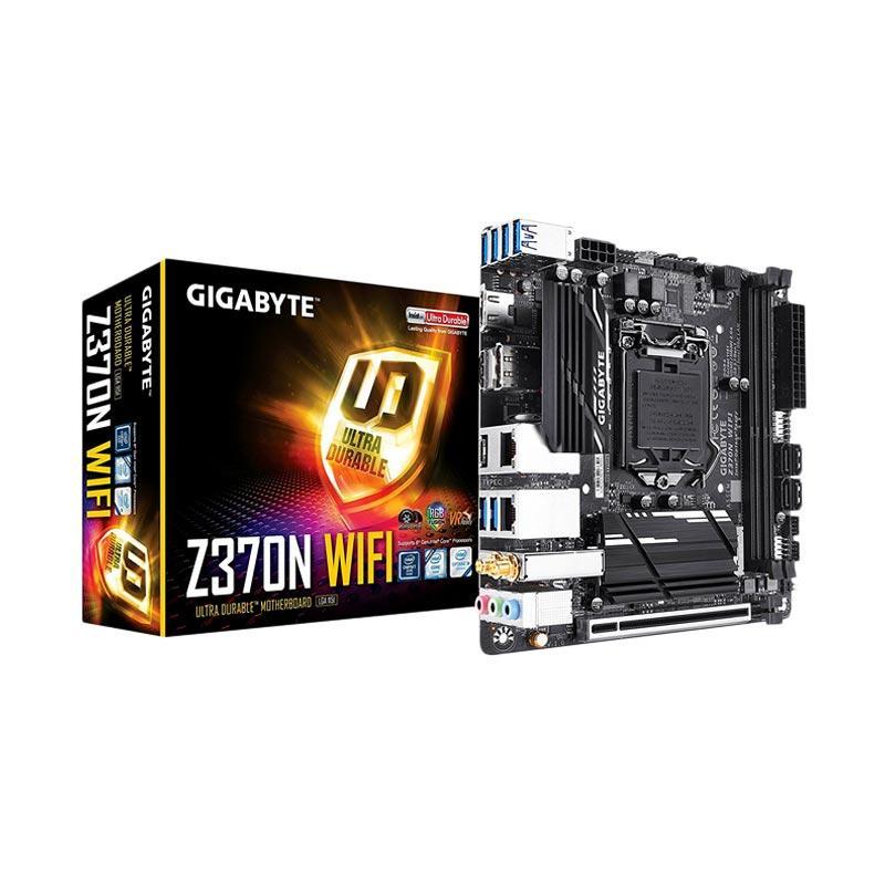 harga Gigabyte Z370N Motherboard WIFI with RGB Fusion [Socket 1151/2xDDR4/HDMI/Mini ITX] Blibli.com