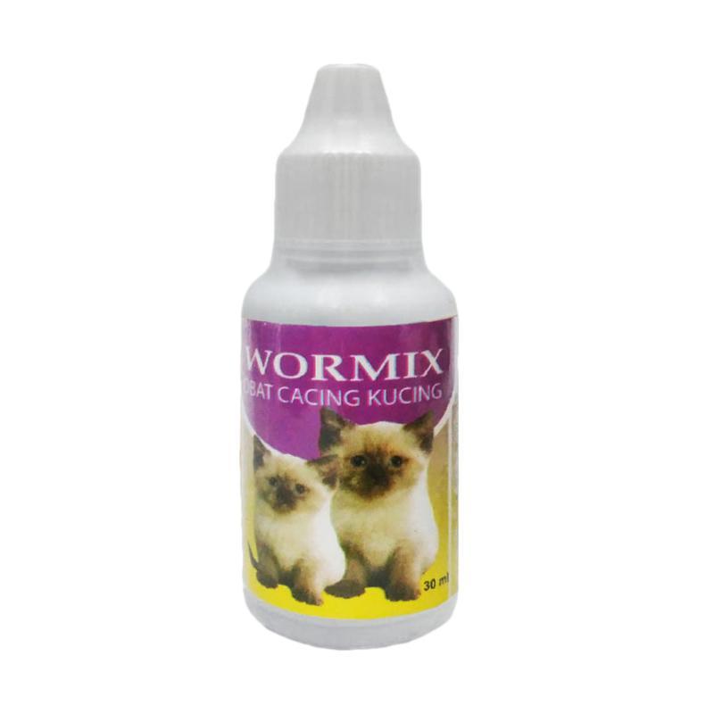 Maxindo Kitten Wormix Obat Cacing untuk Kucing