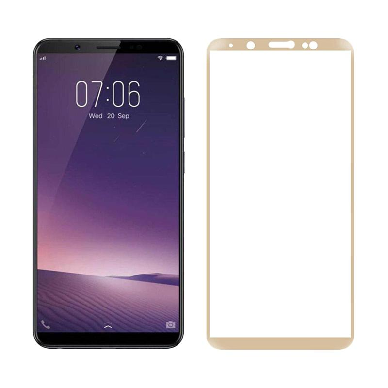 QCF Tempered Glass Full Cover Vivo Y71 Pelindung Layar Vivo Y71 Screen  Protector Full Cover Vivo Y71