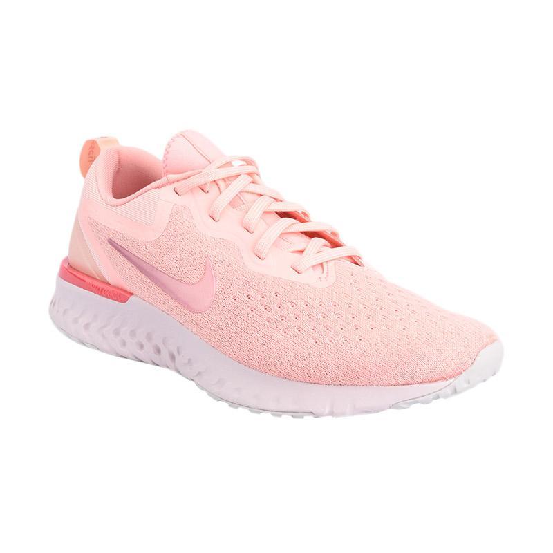 NIKE Women Running Odyssey React Sepatu Lari Wanita Pink AO9820 601