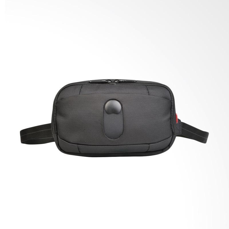 Delsey Bellecour 1 Compartment Belt Bag - Hitam