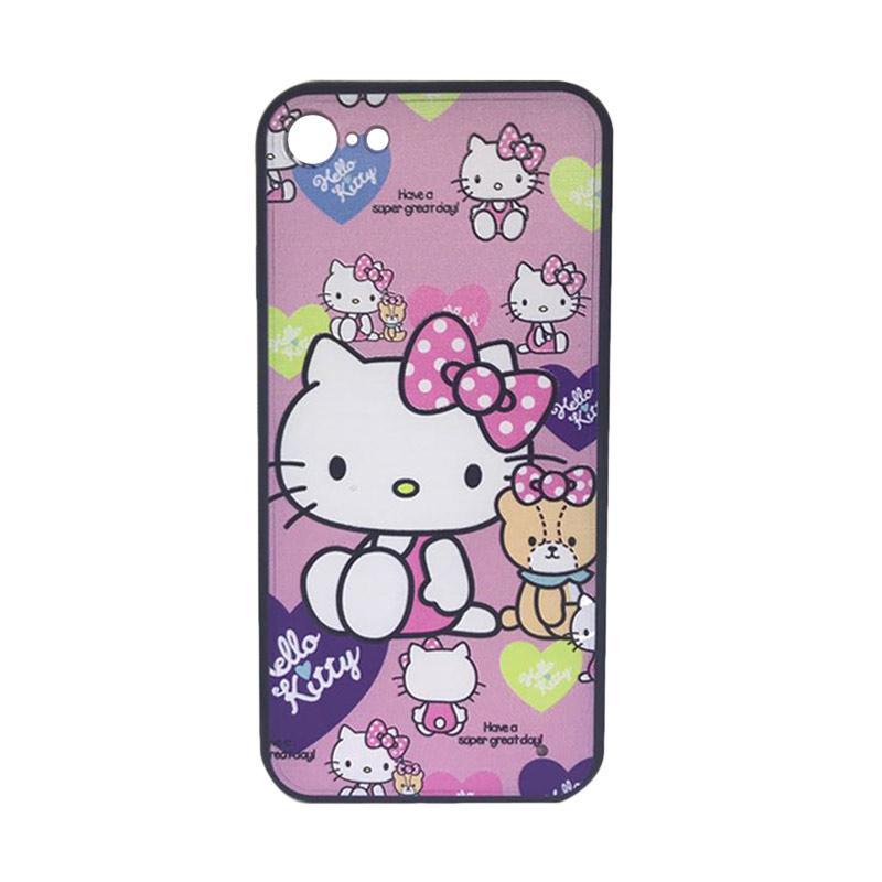 harga JV ACC Fuze Motif Hello Kitty Kode 6 Silikon Casing for iPhone 7 Blibli.com