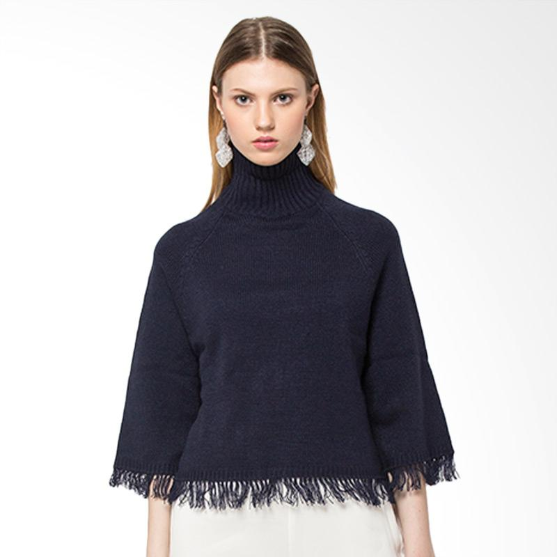 The Executive 5 Blgcas118E167 Sweater Wanita Navy