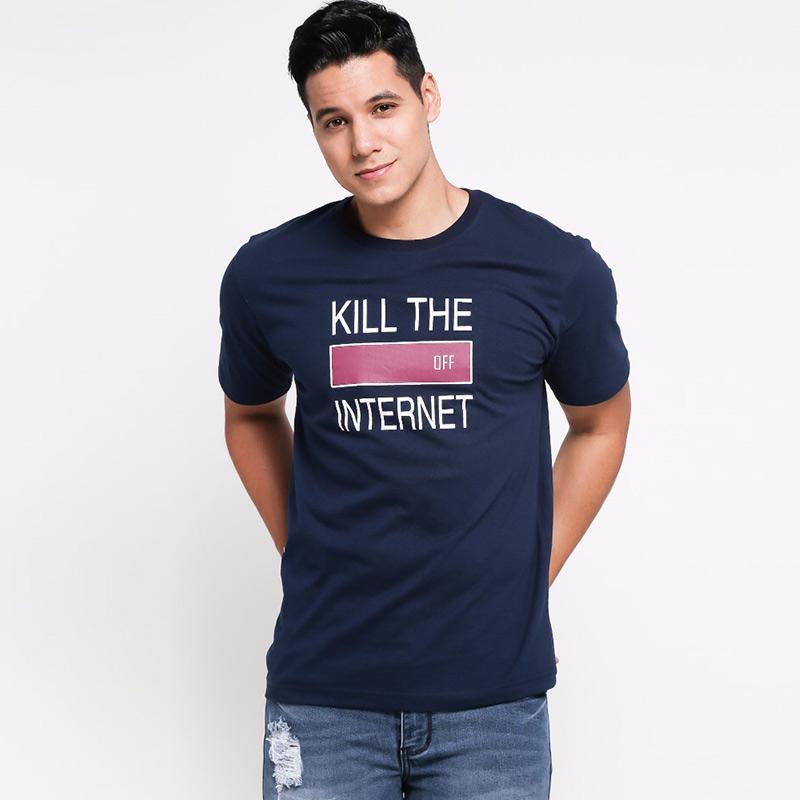 BLYTHE Men Kill The Internet Tees