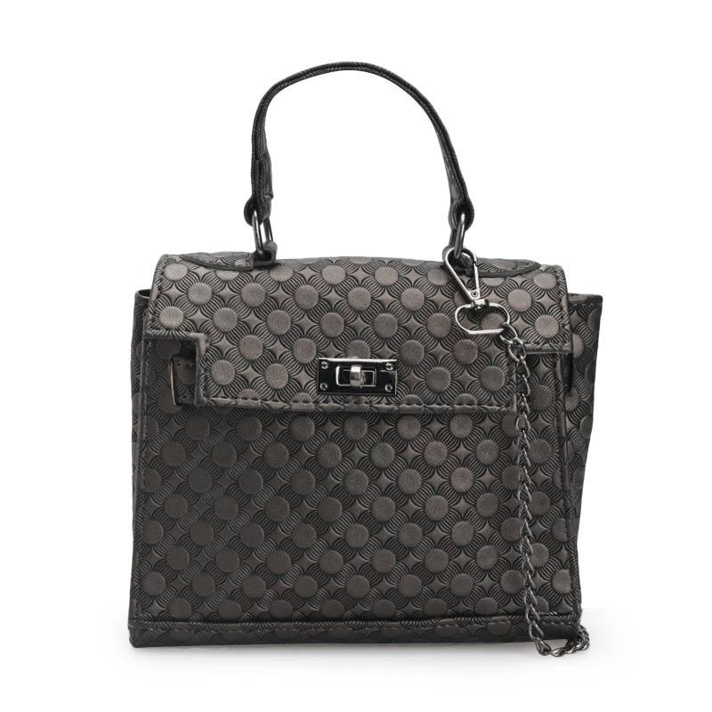 Hers Bags H08B Charlotte Hand Bags Tas Wanita - Black 53cebae854