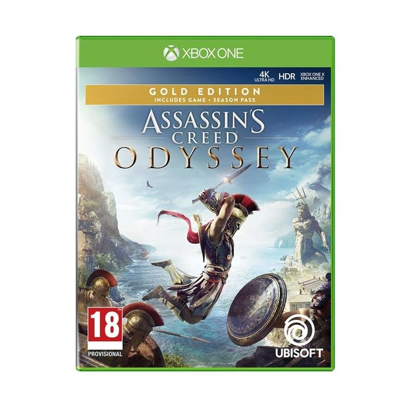 Jual Microsoft Xbox One Assassins Creed Odyssey Gold Edit R3 Dvd