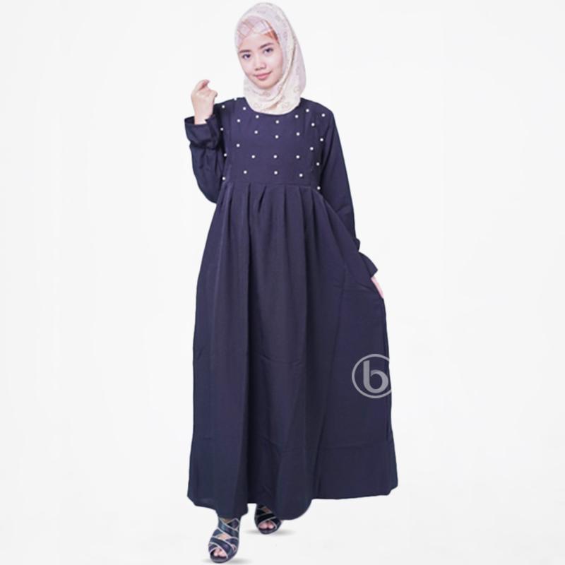 Jual Mama Hamil Gms 262 Muslim Mutiara Dada Mutthya Dress Gamis Ibu Hamil Dan Menyusui Online Maret 2021 Blibli