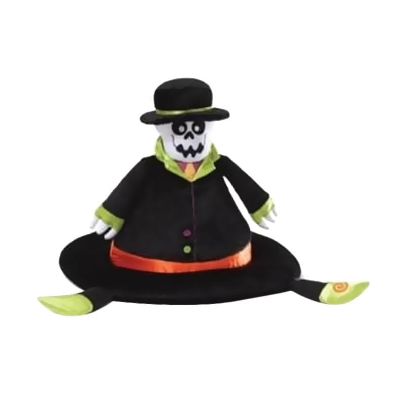 Gund Halloween Bonesly Hat Mainan Boneka