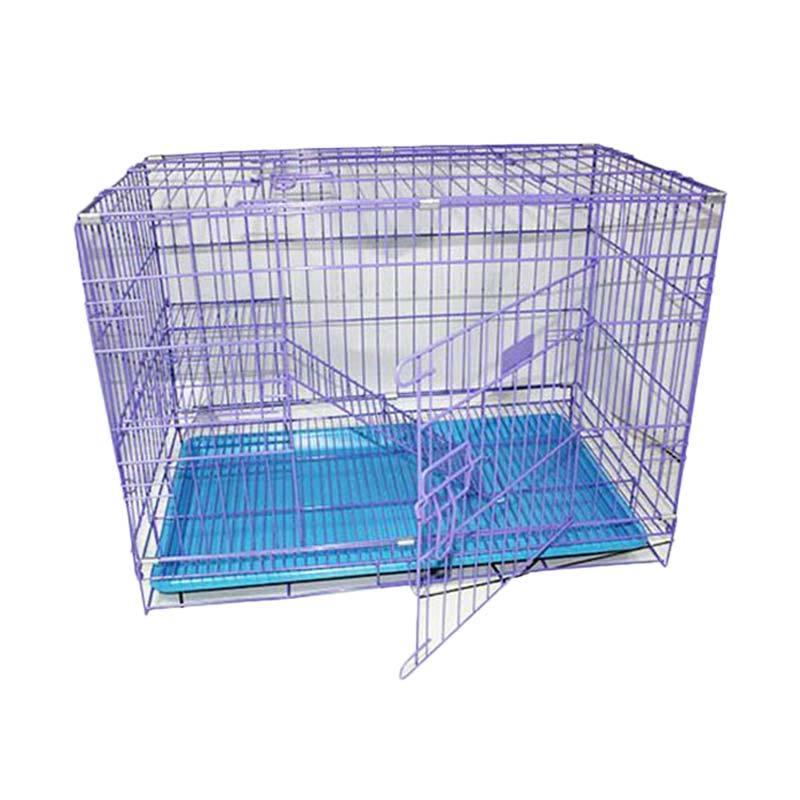 Kandang tingkat ukuran XL untuk Kucing Anjing kelinci Lipat