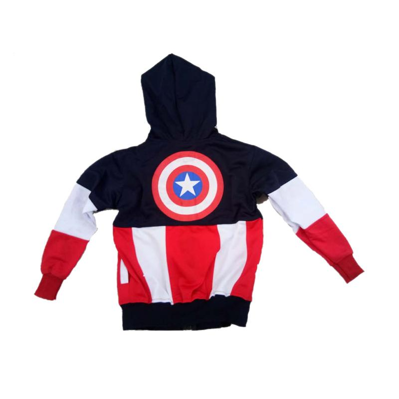 Jual Best Marvel Kostum Super Hero Captain America Jaket Anak Laki Laki  Online November 2020 | Blibli.com