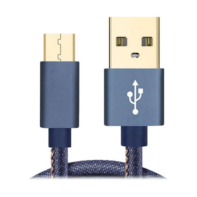 Joyseus KB0002 Micro USB Kabel Data Blue 2 4A 120 cm