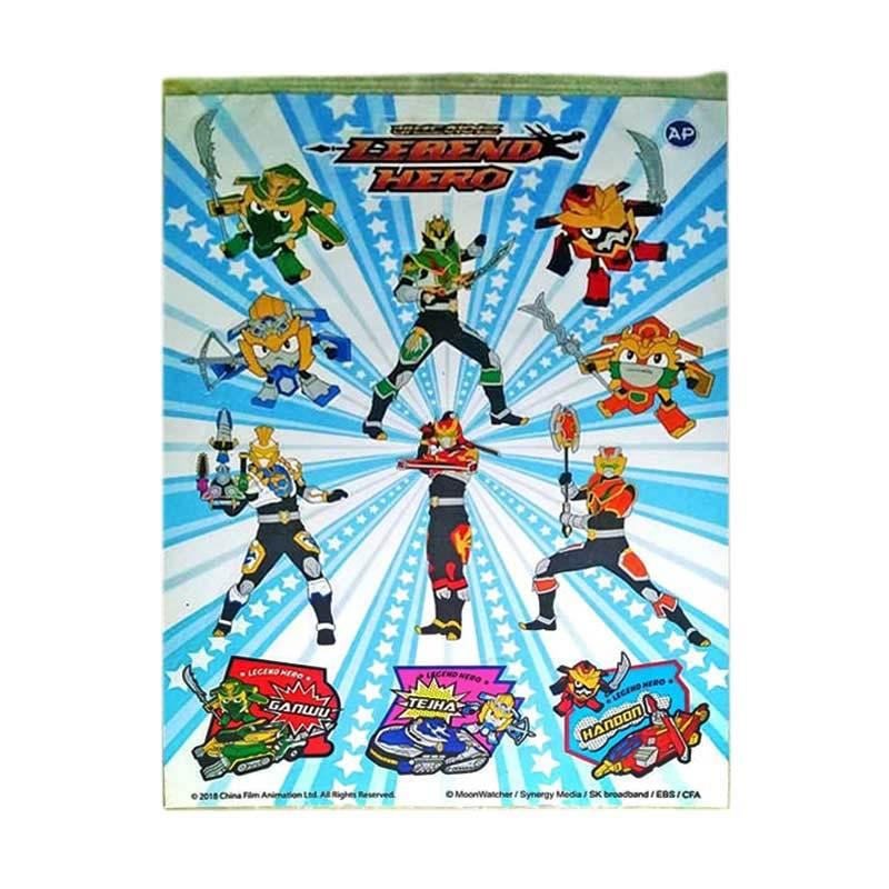 Toy House Sticker Legend Hero Dekorasi Dinding